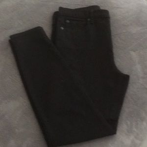Gap size 30S true skinny black Denim
